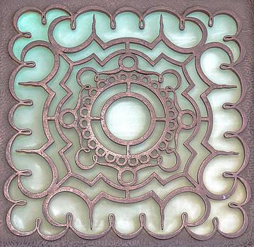Brown metal colors. by Slavica Koceva