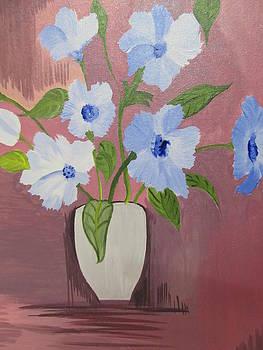 Brown Pot_Fabric Painting by Suhasini U