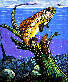 Brown Trout by Bob Crawford
