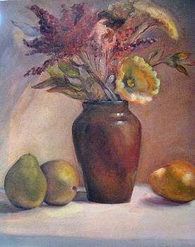 Brown Vase by Dorothy Siclare