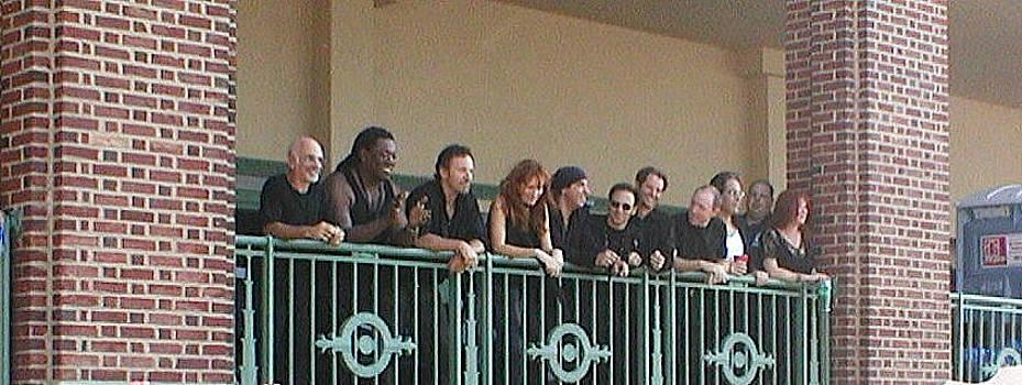 Bruce and the E Street Band in AP by Melinda Saminski