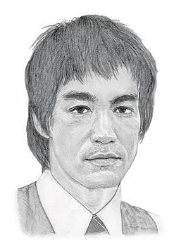 Bruce Lee by Chris Greenwood