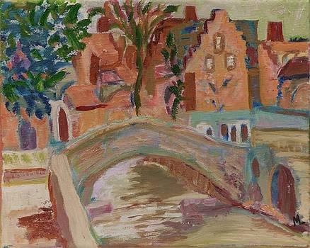 Bruges Bridge by Mary LaFever