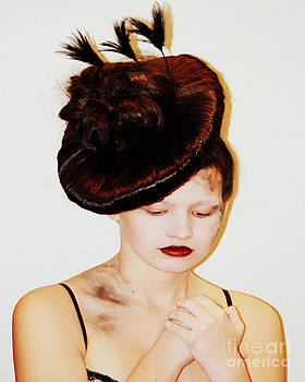Brunette Hat by Kim Lentz