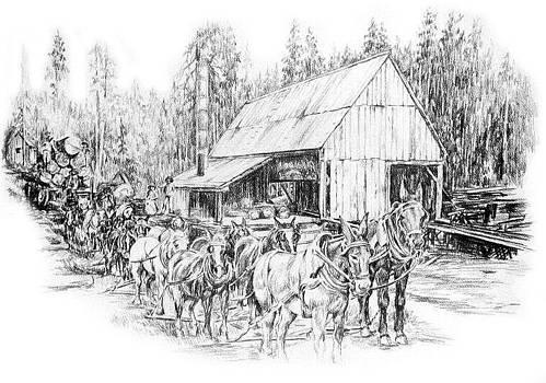 Bryant's Sawmill by Jonni Hill