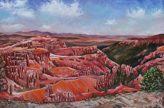 Bryce Canyon Daydream by Eve  Wheeler