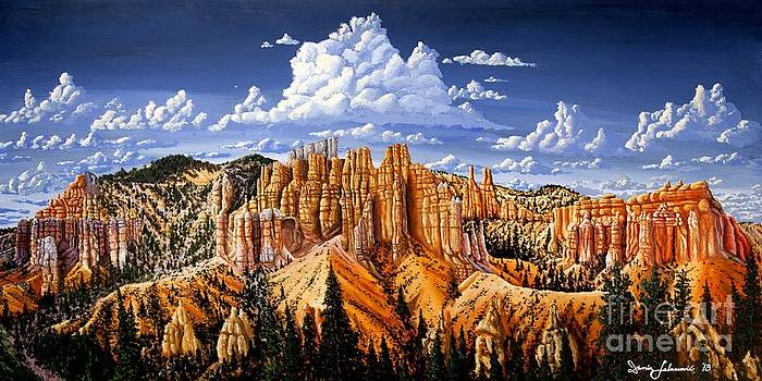Bryce Canyon Needles by Damir Selmanovic