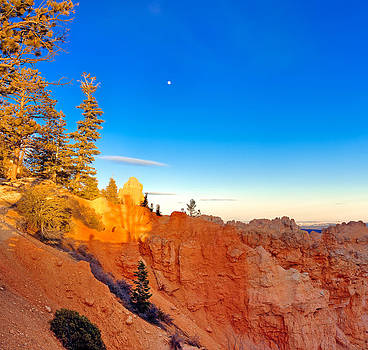 Bryce Canyon Sunset by Tomasz Dziubinski