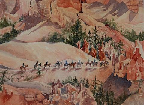 Bryce Canyon Trail by Marilyn  Clement