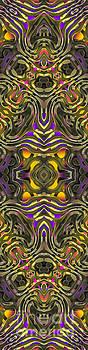 Abstract Rhythm - 35 by Hanza Turgul