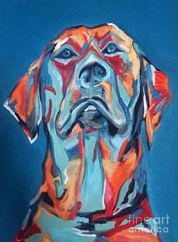 Bubba The Dog by Hogan Willis