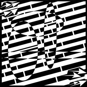 Bubble Distortions Maze by Yonatan Frimer Maze Artist