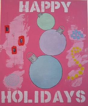 Bubblegum Christmas by Christal Kaple Art