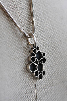 Bubbles necklace by Kelly Clower
