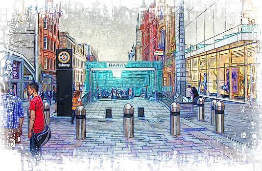 Buchanan Street Subway by Fiona Messenger