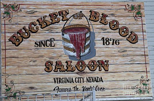 Bucket of Blood Saloon 1876 by David Millenheft