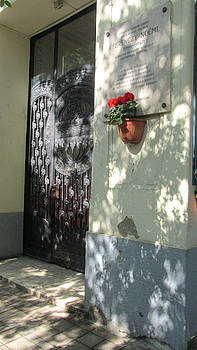 Budapest Street Shadows by Rosie Brown
