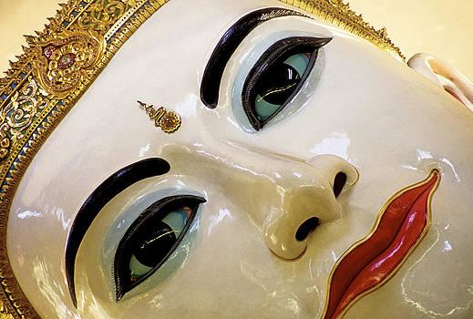 Dennis Cox WorldViews - Buddha face