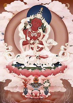Buddha Vajradharma by Ben Christian