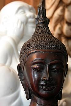 Buddhas by Marigan O'Malley-Posada