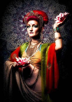 Buddhist Goddess by Renee Sarasvati