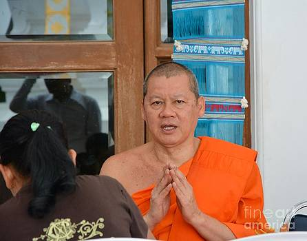 Buddhist monk 03  by Bobby Mandal