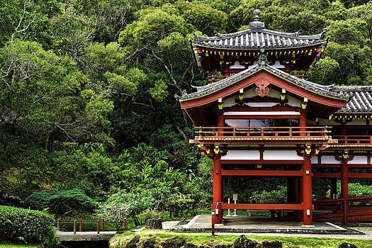 Buddhist Temple  by Joanna Madloch