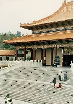 Buddhist Temple- La Puente Ca by Maggie  Cabral