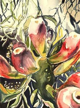 Budding Cactus in Spring II by Aleksandra Buha