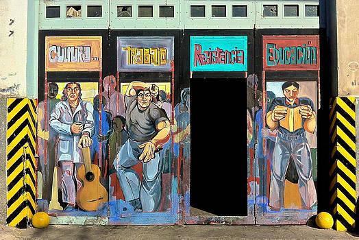 Venetia Featherstone-Witty - Buenos Aires Street Art - Doors