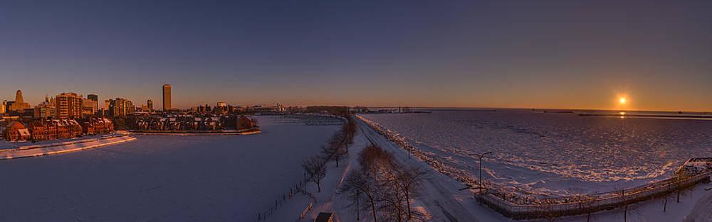Chris Bordeleau - Buffalo New York Winter Sunset