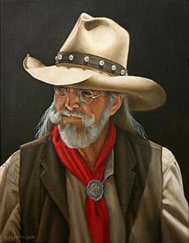 Buffalo Rider by K Henderson