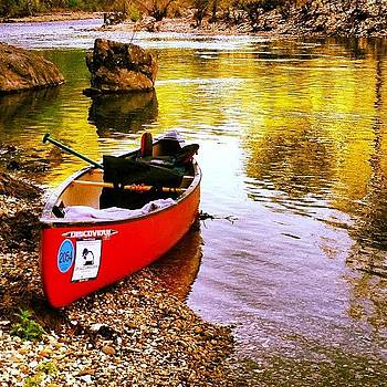 Buffalo River Canoe Trip by Nadine Rippelmeyer