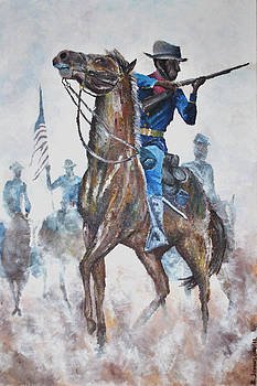 Buffalo Soldier by Ray Johnson