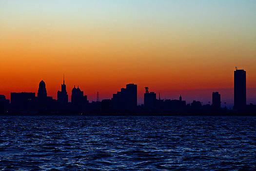Buffalo Sunrise by Don Nieman