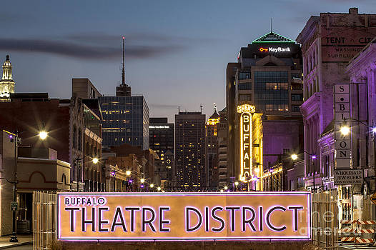 Buffalo Theater District by Chuck Alaimo