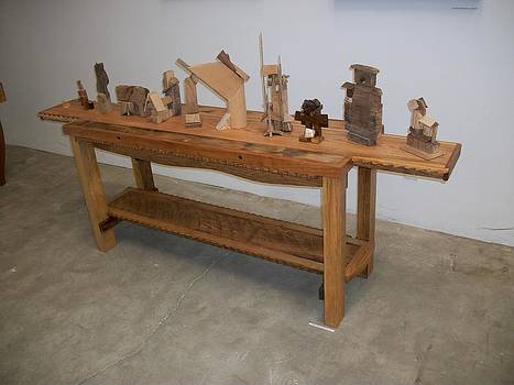 Buffet Table  by D Angus MacIver