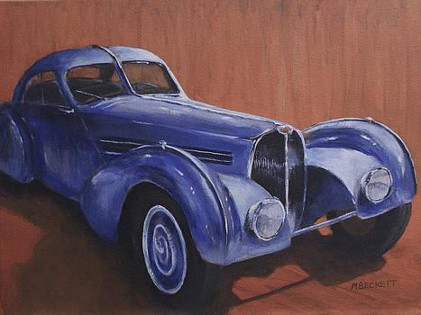 Bugatti Atlantic by Michael Beckett
