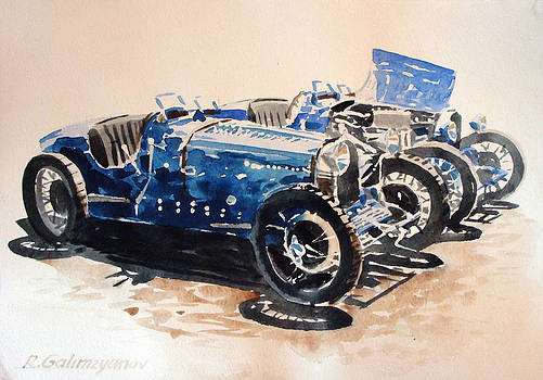 Bugatti type 35 by Rimzil Galimzyanov