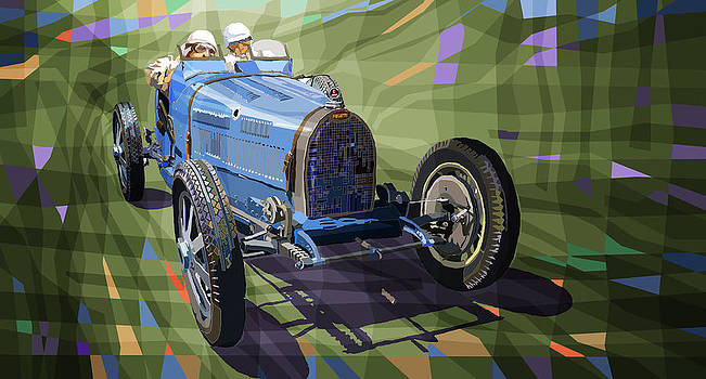Bugatti Type 35 by Yuriy Shevchuk