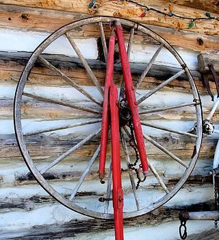 Valerie Kirkwood - Buggy Wheel