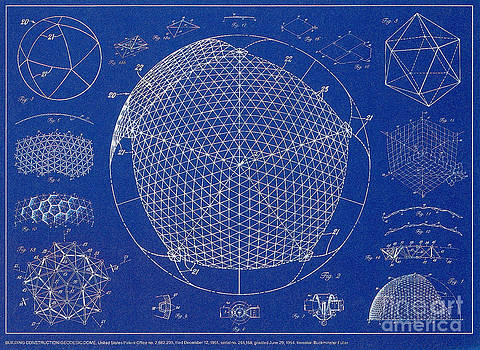 Science Source - Building Construction Geodesic Dome 1951