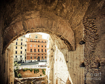 Buildings of Rome V by Christina Klausen