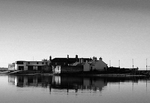 Buildings on the Bull Island by Frank Gaffney