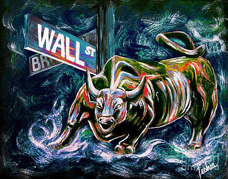 Teshia Art - Bull Market Night