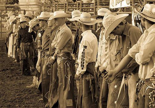 Bull Riders by Steven Bateson