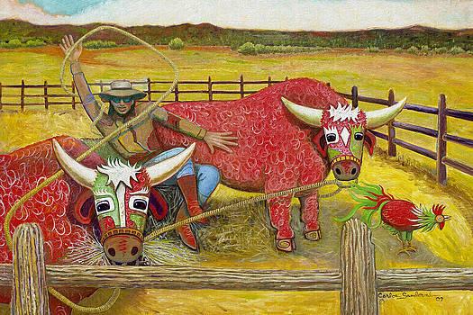 Bull Whacker by Carlos Sandoval