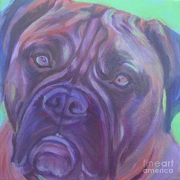 Bullmastiff by Lesley McVicar