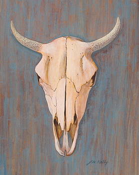 Bullskull no.3 by J W Kelly