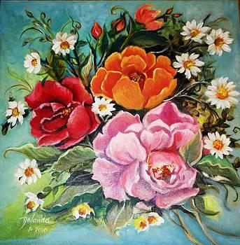 Bunch of Flowers by Yolanda Rodriguez